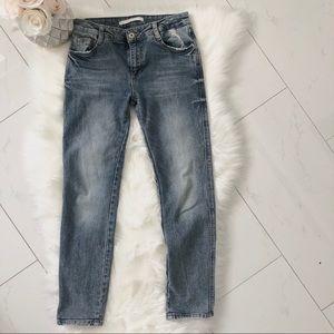Zara trafaluc denimwear jeans